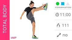 Allneamento a Casa! Esercizi Total Body Ed Esercizi Cardio Ad Alta Intensità - YouTube
