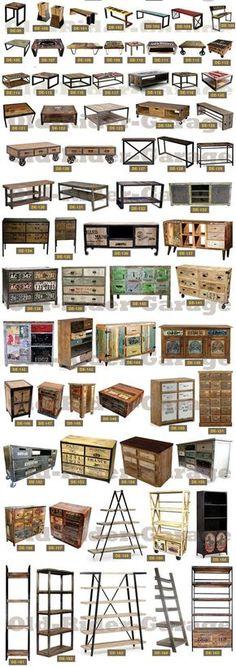 Ideas For Rustic Industrial Bedroom Furniture Vintage Industrial Furniture, Industrial Interiors, Metal Furniture, Furniture Design, Bedroom Furniture, Furniture Ideas, Office Furniture, Bedroom Flooring, Rustic Interiors