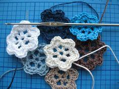 Anette's Scrapblog: Tutorial bloemen