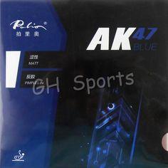 Palio AK 47 AK47 AK-47 BLUE Matt Pips in Rubber With Sponge PingPong Rubber for Table Tennis Racket 2.2mm H38-40  #Affiliate