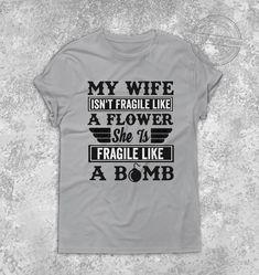 Wife Funny Quote   Premium Unisex T-Shirt - XL / Grey