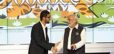 Google, Hindistan'da 400 tren istasyonuna kablosuz erişim noktaları yerleştirecek