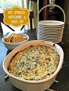 ... Little Bluebird: Hot Spinach, Artichoke and Chile Dip - Ah-Mazing