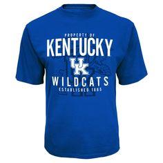 NCAA Kentucky Wildcats Men's Synthetic T-Shirt - Xxl,