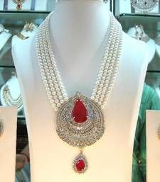 Buy Designer American diamonds SET necklace-set online