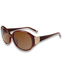 I used to have a pair of Tommy Bahama sunglasses.. but then a dog got a hold of them and they were chewed to nothing.  I loved those glasses.  I miss those glasses.   So, now, I have my eyes on these.  :D Tommy Bahama - Heat Sparkle Sunglasses