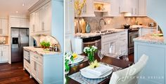 Kitchen designed by Jennifer Brouwer Design.