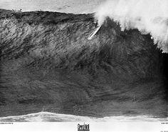 Greg Noll at Waimea Bay