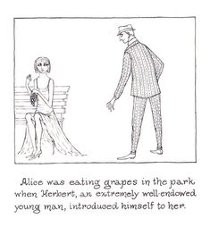 """The Curious Sofa: Edward Gorey's Vintage """"Porno-graphic"""" Children's Book for Adults – Brain Pickings"""