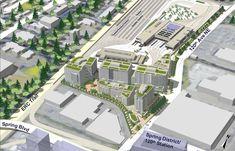 Sound Transit breaks ground on $449M Bellevue light rail base    A future transit-oriented development of 1.1 million square feet is planned.