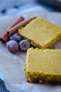 bliss blog - blissful eats with tina jeffers: Pumpkin hazelnutbars