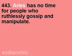Aries... so true