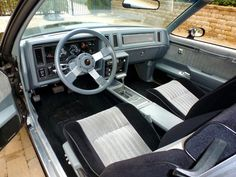 1987 Buick GNX interior Maintenance of old vehicles: the material for new cogs/casters/gears/pads could be cast polyamide which I (Cast polyamide) can produce 80s Classics, Power Unit, Buick Regal, Old Cars, The Unit, Vehicles, Cogs, Retro Style, Gears
