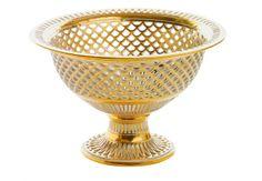 NYMPHENBURG Centrotavolain oro zecchino, primo800,32.700 euro.