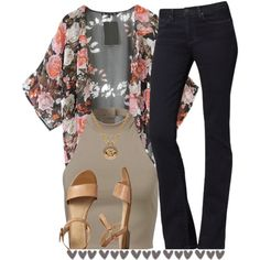 A fashion look from October 2014 featuring Calvin Klein jeans, Gap sandals and Versace necklaces. Browse and shop related looks.
