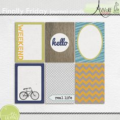 The Lilypad :: Journal Cards :: Finally Friday journal cards