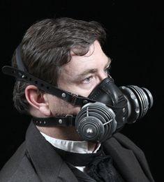 Respirador de máscara de Gas Steampunk Transmutator por TomBanwell