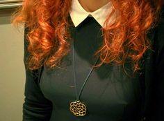 A beautiful pendant inspired by Celtic symbols. http://shpws.me/D3YE | #pendant #silver #zawieszka #3D #flambee #celtic #shapeways @shapeways