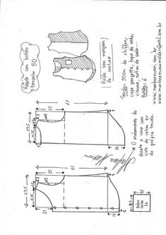 T Shirt Sewing Pattern, Easy Sewing Patterns, Sewing Tutorials, Pencil Skirt Tutorial, Shirt Tutorial, Sewing Blouses, Sewing Shirts, Blouse Patterns, Clothing Patterns