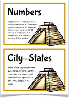 Give fun and interesting facts about ancient sumer and mesopotamia