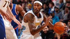 #NBA   DENVER, CO - MARCH 08:  Will Barton #5 of the Denver Nuggets controls the ball against the New York Knicks at Pepsi Center on March 8, 2016 in Denver, Colorado. The Nuggets defeated the Knicks 110-94. NOTE TO USER: User expressly acknowledges and agrees that, by downloading and or using this photograph, User is consenting to the terms and conditions of the Getty Images License Agreement.  (Photo by Doug Pensinger/Getty Images)