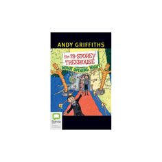 78-Storey Treehouse : Library Edition (Unabridged) (CD/Spoken Word) (Andy Griffiths)