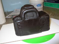 In my attempts to research the instructions on sculpting a camera cake, I found very little helpful information. So I decided that on my adv...