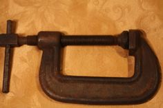 "Vintage Wilton No. 104 C - Clamp Made in USA  Drop Forged Steel 4"" Opening #Wilson"