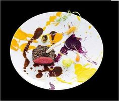 FoodArt by chef Key Kobayashi... Photo: Richard Haughton