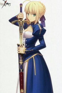 Blue saber
