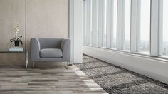 Interface's all-new luxury vinyl tile pairs perfectly with its modular carpet. Order samples from the Level Set Collection today.