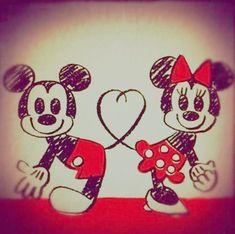 Pequena fashionista: Coisas fofas do Mickey e da Minnie!!