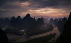 Over Xiangtangshan at Sunrise by fabrizio massetti #xemtvhay