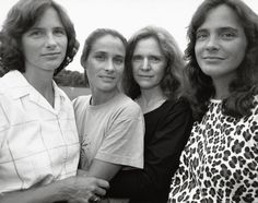 Nicholas Nixon's 40 years photographing the Brown sisters