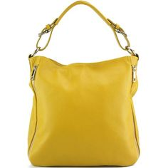 Artemisa large leather Hobo bag Hand bag in Yellow Blue Grey & Red Leather Saddle Bags, Calf Leather, Leather Purses, Leather Shoulder Bag, Leather Men, Leather Backpack, Leather Driving Gloves, Laptop Messenger Bags, City Bag