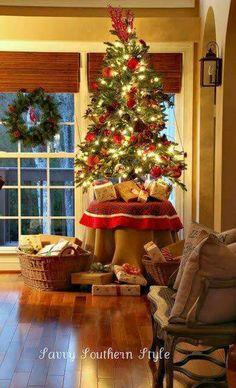 Christmas Tree And Toddler Small Decor Table