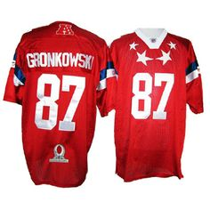 2012 Pro Bowl New England Patriots  87 Gronkowski Red jersey ID 526199  Price  8d7d439c6