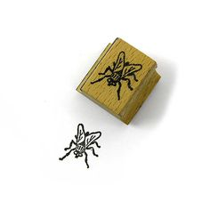 Vintage 1980s Bizzaro Rubber Stamp House Fly by 42ndAvenueVintage