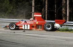 CURVA PARABOLICA - Clay Regazzoni, 1974 Austrian GP.