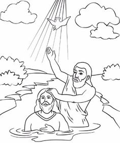 John the Baptist Coloring Page Inspirational John the Baptist Coloring Page Vacation Bible School Sunday School Ideas Sunday School Kids, Sunday School Activities, Sunday School Crafts, Jesus Coloring Pages, Coloring Pages For Kids, Coloring Books, Free Coloring, Kids Coloring, Coloring Sheets
