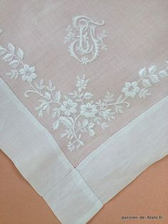 Simply Remembering Favorite Things White Embroidery