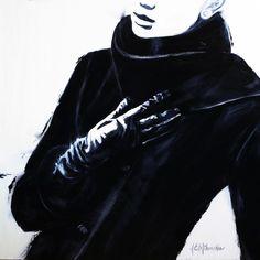 Janel Eleftherakis - Sepia Series Paintings by Janel Eleftherakis  <3 <3
