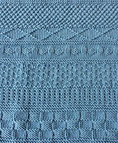 Ravelry: Mystery KAL pattern by Tina van den Berg Free Baby Blanket Patterns, Baby Knitting Patterns, Knitting Stitches, Baby Patterns, Stitch Patterns, Crochet Patterns, Knitting Needles, Free Knitting, Knitted Afghans