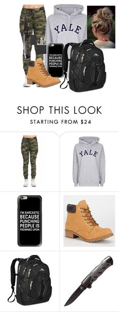 """Runaway"" by stormiemiller on Polyvore featuring Topshop, Casetify, Soda, High Sierra, 12 Survivors and Zippo"