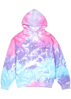 Men's New In Designer Clothing, Shoes & Accessories Tie dye cotton-blend sweatshirt Shirt Makeover, How To Tie Dye, Tie And Dye, Diy Tie Dye Shirts, T Shirt Diy, Tie Dye Hoodie, Dye T Shirt, Cut Up Shirts, Stylish Hoodies