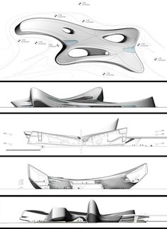 Regium Waterfront by Zaha Hadid in Reggio Calabria, ITALY