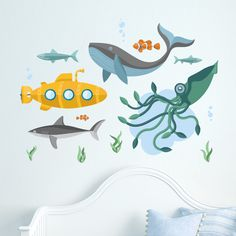 Underwater Scene – Wall Stickers