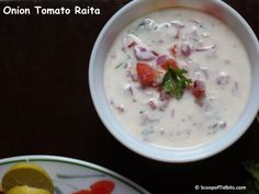 Onion Tomato Raita is a very easy to make side dish for Biryani, Pulao or any spicy Rice variety or Parathas. Also, Onion Tomato Raita is one of the common
