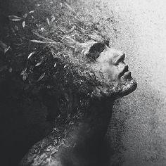 turning into ash