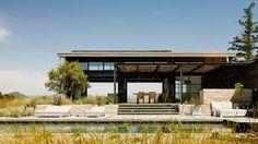 robert feldman architecture – Google Kereső Casas California, California Homes, Northern California, Architecture Design, Landscape Architecture, Landscape Design, Garage Door Windows, Windows And Doors, Piscina Interior